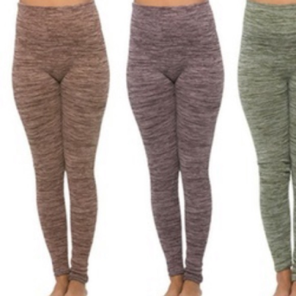 6501fd23df Maze Collections Pants | Maze Thick Ribbed Space Dye High Waist ...